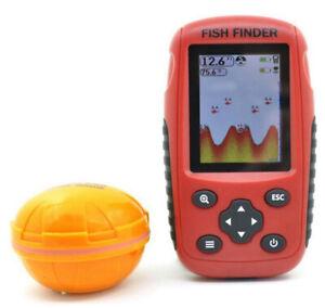 FFW718 Fish Finder Wireless Sonar Detection Portable Depth 200m Fishfinder AU