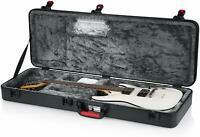 Gator Cases TSA ATA Molded Electric Guitar Case W/ Internal LED Light, Black New