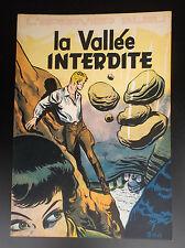 La vallée interdite L'épervier bleu  EO 1954 ETAT NEUF