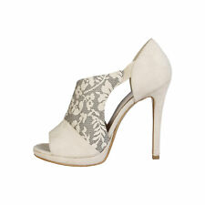 Made in Italia - sandalias Iole beige -altura Tacón 11 5cm- 36