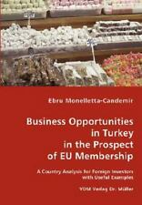 Business Opportunities in Turkey in the Prospect of Eu Membership by Ebru...