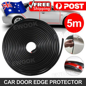 5M SUV Car Door Moulding Rubber Scratch Protector Strip Edge Guard Trim DIY AU