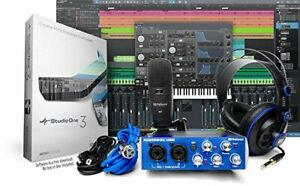 Home Studio Recording Package Kit Full Music Equipment Bundle Software Mixer Mic