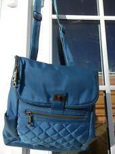 Travelon Blue Crossbody Backpack RFID Block Purse