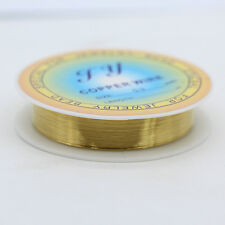 0.2/0.3/0.4/0.5/0.6/0.8/1mm Round pure copper wire beaded line DIY jewelry craft
