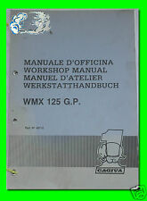 CAGIVA manuale d'officina WRK 125 G.P.