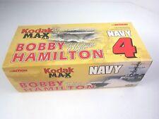 Diecast Stock Car 1:24 NASCAR Bobby Hamilton Kodak Max Film Navy 4 NIB 2000 LE