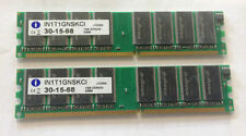 KIT RAM 2GB (2x 1Gb) 400MHZ MEMORIA DESKTOP 184PIN DDR 400 PC3200 LOW DENSITY