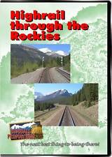 Highrail Through The Rockies DVD Highball NEW Field to Lake Louise CP Hirail