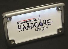Radiantz Plate frame w/LED to Light up plate-Scratched