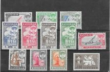 ZANZIBAR 1961-1964 SEYID ABULLAH SCOTT 264-279 MNH SET,1964 PART OPS AND 280.