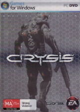 CRYSIS PC SPECIAL LIMITED COLLECTOR EDITION RARE SEALED