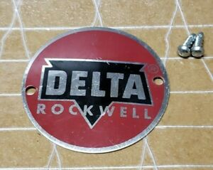 Delta Machinery Tag/ Badge Original New Old Stock & Used (7-5)