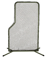 ATEC Baseball/Softball Portable L Screen Net With Travel Bag WTAT7440