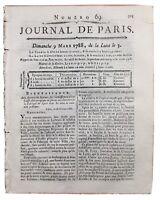 Soierie de Lyon 1788 Fabrique Textile Rhône Terray Maulny Haydne Journal Paris