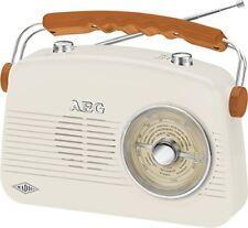 90677630 AEG nr 4155 Retro Radio Ukw/mw Creme