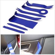 7 X Car SUV Interior Radio Panel Trim Door Clip Removal Upholstery Tool Kit Blue