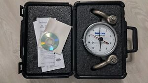 """USED Dillon AP Mechanical Dynamometer with Shackles, 5"""" Dial, 20,000 lb x 200 lb"""