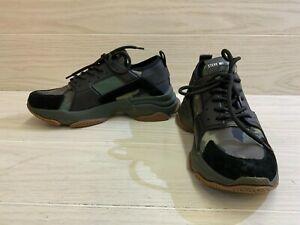 Steve Madden Modden Casual Sneaker - Men's Size 8.5 M, Green Camo