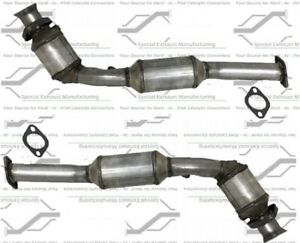 SET OF LH/RH CATALYTIC CONVERTER MADE IN CANADA FOR 96-02 CRN VIC MARQUIS TOWN C