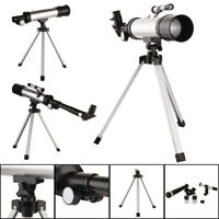 360x50 Astronomical Telescope Tube Refractor Monocular Spotting Scope+Tripod Set