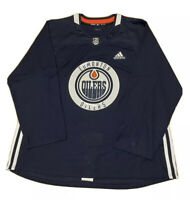 Adidas NHL Climalite Authentic Edmonton Oilers Practice Jersey Men's Size 52