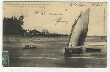 AK Le Pouliguen, Loire-Atlantique, Le Bac du Passeur a l´entree du Port, 1910