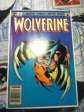 Wolverine Limited Series #2  1982 LQQK comics