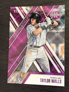 2017 Panini Elite Extra Edition Aspirations Purple #89 Taylor Walls 031/200