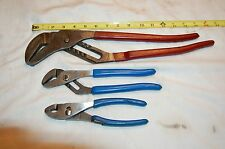 Assortment of Blue-Point Adjustable Pliers