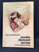 Vintage Dandie Dinmont Terrier Book Dandie Dinmont Terrier How To Raise