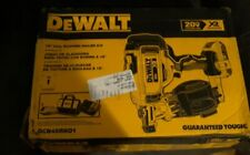 NEW DEWALT DCN45RND1 20 VOLT CORDLESS ROOFING NAILER TOOL  KIT