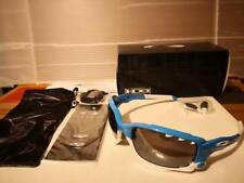NEW Oakley - Customized Racing Jacket - Sunglasses, Glacier / Black Iridium Lens