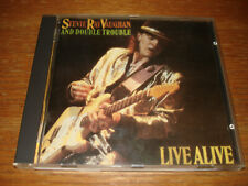 Stevie Ray Vaughan Live Alive CD Holland Austria original mastering EPC 450238 2