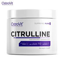CITRULLINE MALATE 210 - 70 SERVINGS Aerobic Energy Booster Longer Muscle Pump