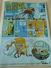 Pub Instantané Poulain emmene moi Advert 1983