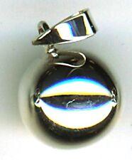 925 argento Sterling Gong BALL CIONDOLO Harmony Fairy chiamante 16mm diametro LMS