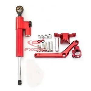 Motorcycle Steering Damper Stabilizer+Mount Bracket Kit For Benelli BN 600 BJ C1