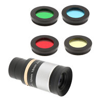 """Metal 1.25"""" 8-24mm Zoom Eyepiece+4x Lens Filter Set for Astronomy Telescope"""