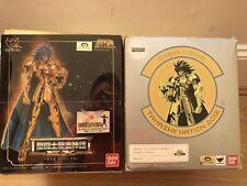 1st Ver. Bandai Saint Seiya Myth Cloth Ex Gemini Saga and Kanon Set