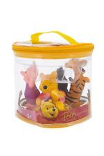 Winnie The Pooh Squeeze Toys Bath Tub Pool Disney Parks Piglet Eeyore Tigger NEW