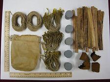 oil skin tinder pouch bag sack delux bushcraft survival water resistant loaded