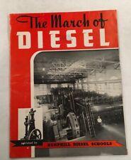 THE MARCH OF DIESEL HEMPHILL DIESEL SCHOOLS ENGINEERING BROCHURE BOOKLET