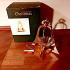 BELL 2008 Annual Christmas Candleholder TORBEN JORGENSEN Holmegaard Box & Ribbon