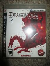 Dragon Age: Origins  (Sony Playstation 3, 2009) PS3 Complete