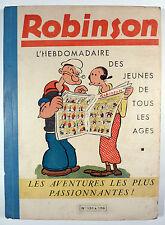 Robinson Reliure éditeur de 1938 TBE
