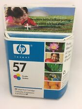 Hp Invent inkjet Print Cartridges 57 tri-color Expired New Sealed!