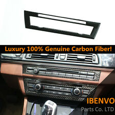 Carbon Fiber Air Conditioning Pannel Trim For BMW M5 F10 F11 F12 F13 5 6 Series