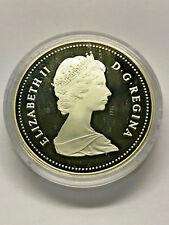 1587-1987 Canada Detroit de Davis Strait Silver 1 Dollar Proof #12549