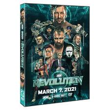 Official AEW All Elite Wrestling - Revolution 2021 Event 2 Disc DVD